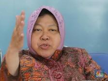 Sempat di Zona Hitam, Risma Klaim Kasus Corona Surabaya Turun