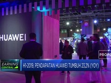 Sempat Diguncang AS, Pendapatan Malah Huawei Naik