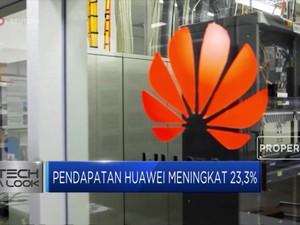 Pendapatan Huawei Meningkat 23,3%