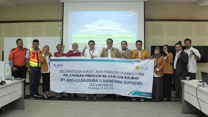 Tingkatkan Kualitas Layanan, Bandara Supadio Jadi Pelanggan Premium PLN