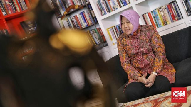 Pemkot Surabaya Sebut Risma 'Santuy' Soal Laporan Penghinaan