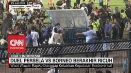 VIDEO: Duel Persela Vs Borneo Berakhir Ricuh