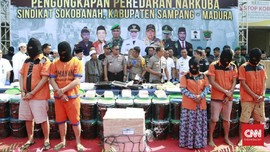 Polda Jatim Ringkus Sindikat Narkoba Malaysia di Madura