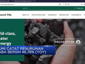 BUMI Catat Penurunan Laba Bersih 46.78% (YoY)
