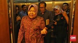 Risma soal Banjir Surabaya: Cuma Satu Wilayah, Hujan Tinggi