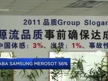 Laba Samsung Anjlok 56% (YoY)