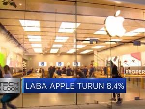 Laba Apple Turun 8,4%