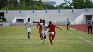 Timnas Indonesia U-15 Ungguli Filipina 3-0 di Babak Pertama