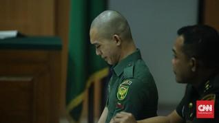 Oknum TNI Pembunuh Kekasih Minta Hakim Ringankan Hukuman
