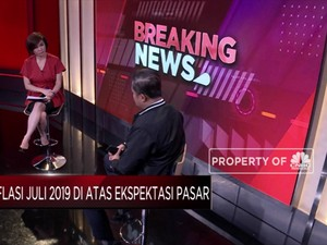 Ekonom : Meski Naik, Inflasi Juli 2019 Masih Terkendali