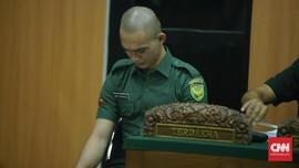 Oknum TNI Pembunuh Kekasih Dituntut Penjara Seumur Hidup