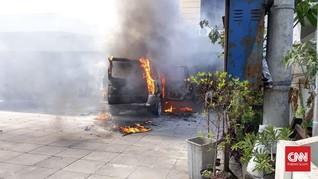 Mobil Meledak di Gereja Surabaya, Polisi Pastikan Bukan Teror