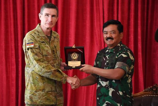 Panglima TNI Terima Kunjungan Pangab Australia