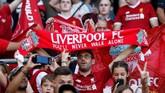 Liverpool selanjutnya akan menghadapi laga melawan Manchester City di ajang Community Shield, Minggu (4/8). REUTERS/Denis Balibouse)