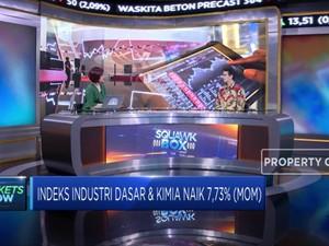 Naik 7,73%, Sektor Industri Dasar Juara IHSG Bulan Juli