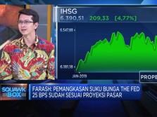 Sesuai Ekspektasi, The Fed Pangkas Suku Bunga 25bps