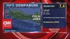 VIDEO: Gempa M 7,4 Terjadi di Banten Berpotensi Tsunami