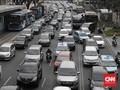 28 Ruas Jalan Dekat Gerbang Tol Terimbas Ganjil Genap