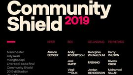 INFOGRAFIS: Prediksi Susunan Pemain Community Shield 2019