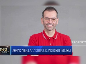 Ahmad Abdulaziz Ditunjuk Jadi Dirut Indosat