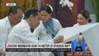 VIDEO: Jokowi Membatik Kain 74 Meter di Stasiun MRT