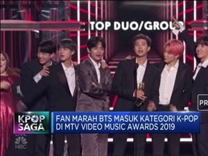 BTS Masuk Kategori Khusus Kpop, Fan: MTV Awards Rasis!
