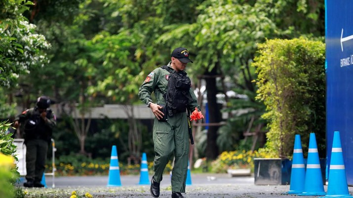 Sejumlah ledakan bom rakitan terjadi di Bangkok, Thailand, pada Jumat (2/8/2019) waktu setempat.