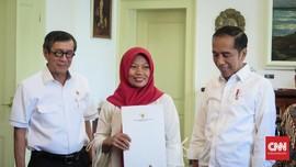 Perjalanan Lombok-Bogor, Baiq Nuril 'Jemput' Amnesti Jokowi