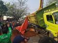 Kecelakaan Tol Cipularang KM 91 Diduga Karena Truk Terguling