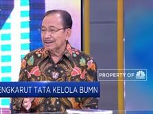 Tanri Abeng: AKHLAK ala Erick Harus Dimulai dari Bos-bos BUMN