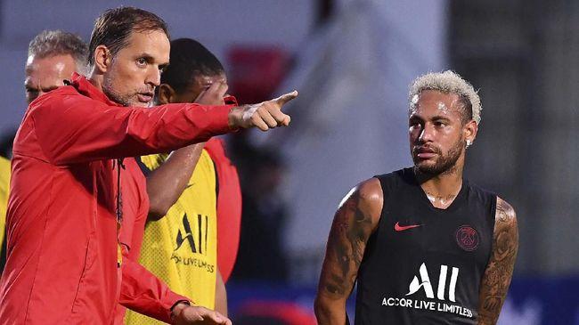 Absen Lagi di Laga Kedua PSG, Pelatih Bantah Neymar Pergi