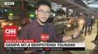 VIDEO: Gempa Banten, Pegawai Perkantoran Berhamburan Keluar
