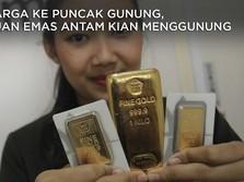 Harga Emas Antam Hari Ini Rekor Lagi, Cuannya Kian Menggunung