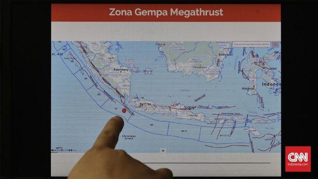 Tanggapi Potensi Megathrust, Jokowi Minta Tetap Waspada