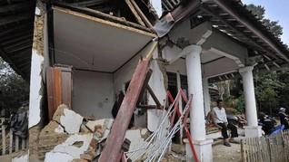 Polda Banten Catat 139 Rumah Rusak Akibat Gempa