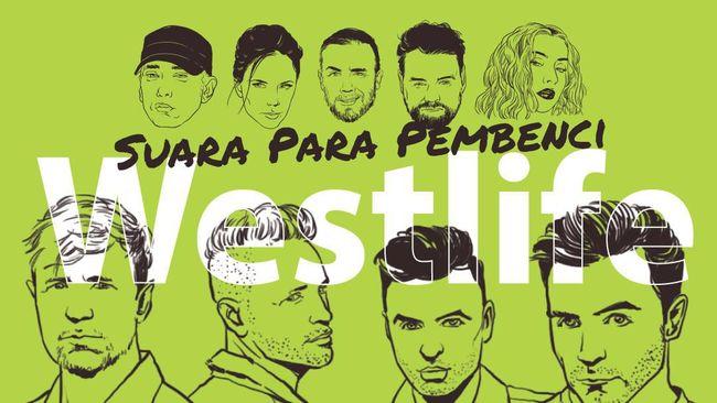 INFOGRAFIS: Suara Para Pembenci Westlife