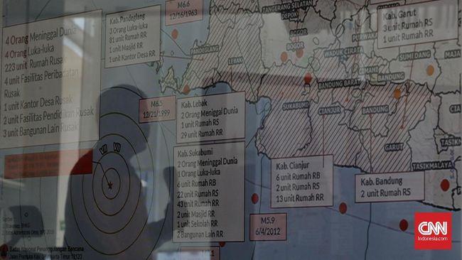 Gempa 5,0 SR di Cilacap Tak Berpotensi Tsunami