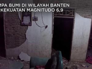 Detik-Detik Mencekam Gempa Banten M 6,9