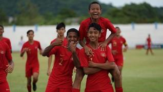 Timnas Indonesia U-15 Kalahkan Montenegro