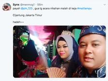 Listrik Padam Massal Saat Nikah, Netizen Curhat di Twitter