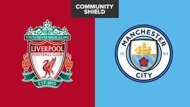 LIVE REPORT: Liverpool vs Man City di Community Shield