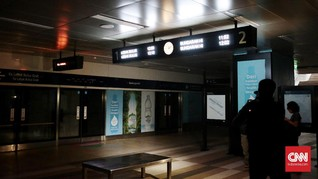 MRT akan Kembali Beroperasi Malam Ini Jika Listrik Menyala