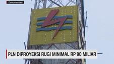 VIDEO: PLN Diproyeksi Rugi Minimal Rp 90 Miliar