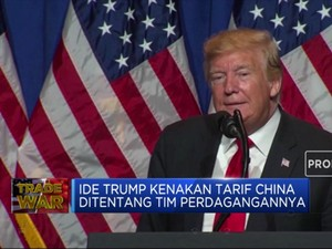 Ditentang Timnya, Trump Kekeuh Kenakan Tarif Tambahan China