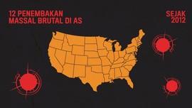 INFOGRAFIS: 12 Penembakan Brutal di AS Sejak 2012