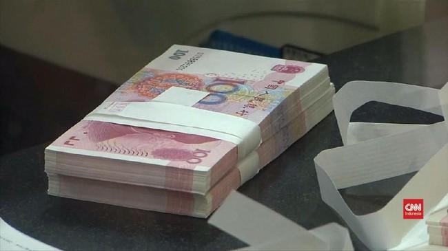 VIDEO: Yuan China Melorot, Terendah Sejak 2010