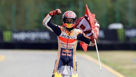 FOTO: Marquez Tak Tertandingi di MotoGP Ceko 2019