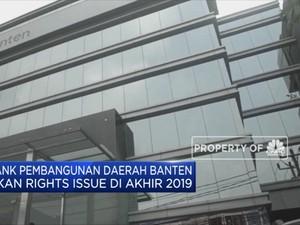 Raih Komitmen Suntikan Modal, Bank Banten Siap Rights Issue