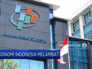 Pertumbuhan Ekonomi Indonesia Melambat