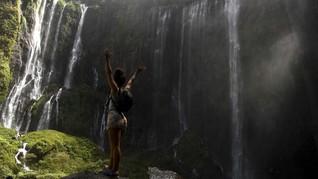 FOTO: Kemegahan Air Terjun Tumpak Sewu